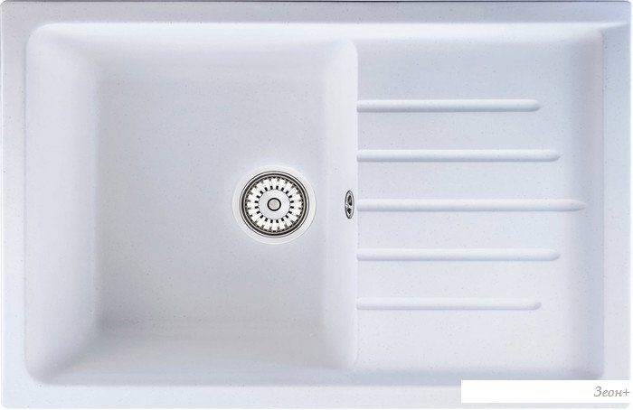 Кухонная мойка Berge 7602 (белый)