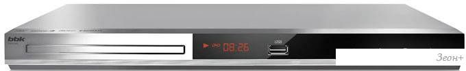 DVD-плеер BBK DVP036S (серебристый)