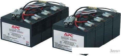Аккумулятор для ИБП APC RBC12 (12В/56 А·ч)