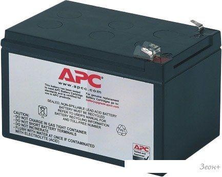 Аккумулятор для ИБП APC RBC4 (12В/12 А·ч)