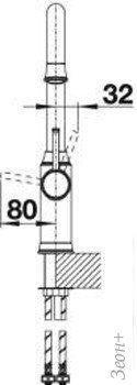 Смеситель Blanco Livia-S (хром) [521288]