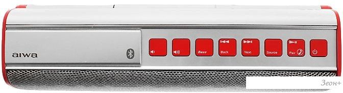 Беспроводная колонка Aiwa BT-3000 (красный)