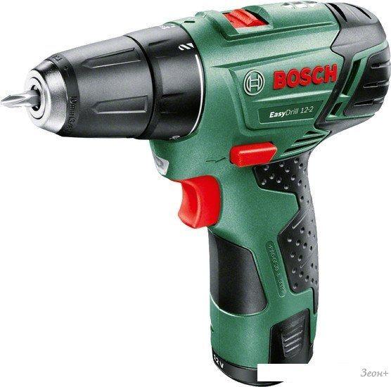 Дрель-шуруповерт Bosch EasyDrill 12-2 [060397290V]