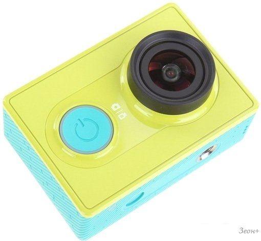 Экшен-камера Xiaomi Yi Action Camera Basic Edition (желтый)