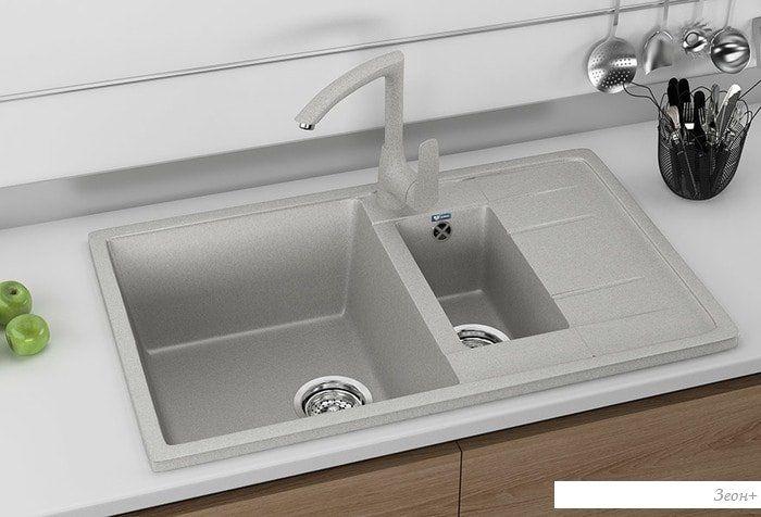 Кухонная мойка Ulgran U-205 (бежевый)