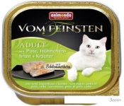 Корм для кошек Animonda Vom Feinsten Adult с индейкой, курицей и травами 0.1 кг