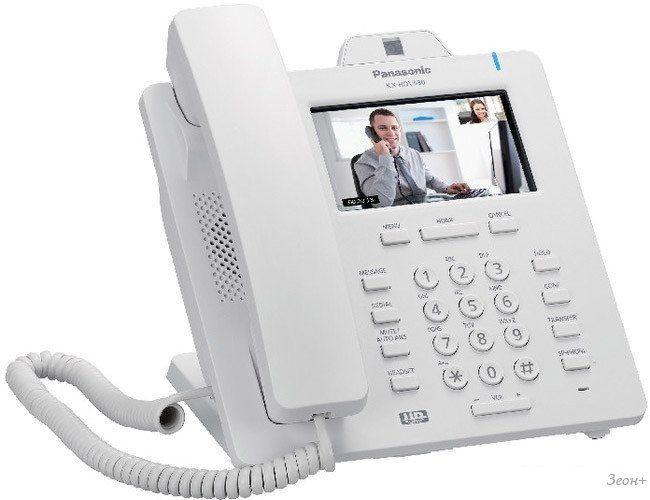 Проводной телефон Panasonic KX-HDV430 (белый)