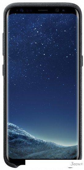 Чехол Samsung Alcantara Cover для Samsung Galaxy S8+ [EF-XG955ASEGRU]
