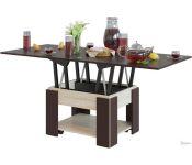 Журнальный столик Сокол СЖ-2 (венге/дуб сонома)
