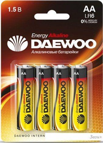 Батарейки Daewoo AA 4 шт. [4690601030368]