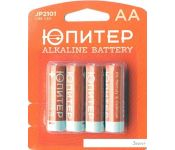 Батарейки Юпитер AA 4 шт. [JP2101]