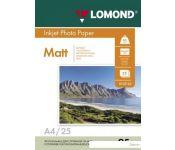 Фотобумага Lomond матовая односторонняя А4 95 г/кв.м. 25 листов [102130]