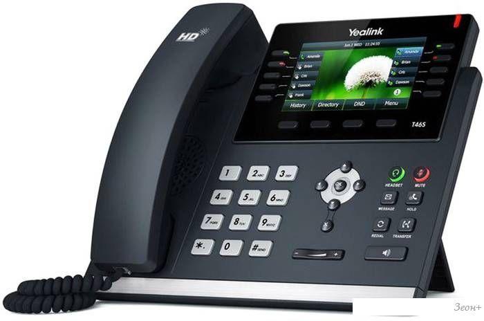 Проводной телефон Yealink SIP-T46S