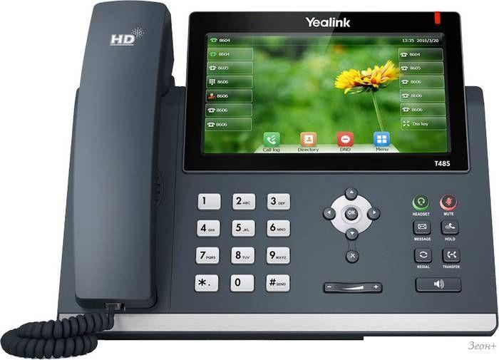 Проводной телефон Yealink SIP-T48S