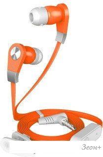 Наушники с микрофоном Harper HV-103 (оранжевый)