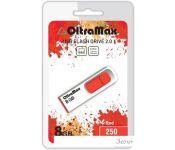 USB Flash Oltramax 250 8GB (красный) [OM-8GB-250-Red]
