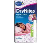 Трусики Huggies DryNites 4-7 лет для девочек (10 шт)
