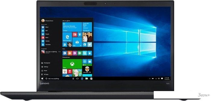 Ноутбук Lenovo ThinkPad T570 [20H90018RT]