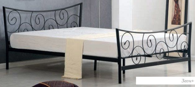 Кровать Halmar Ramona 208x175 (черный)