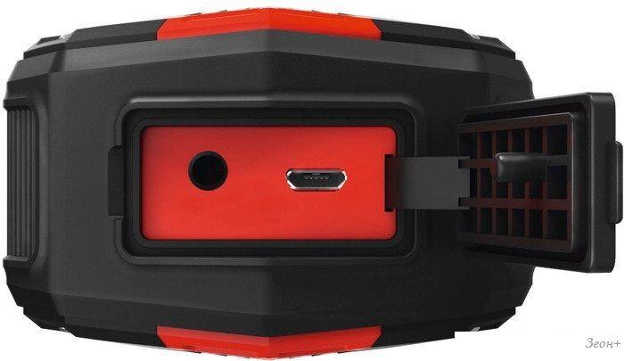 Беспроводная колонка Hama Rockman-L (черный/красный)