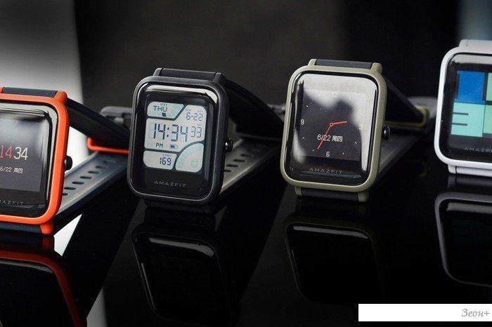 Умные часы Xiaomi Amazfit bip (зеленый)