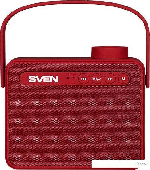 Беспроводная колонка SVEN PS-72 (красный)