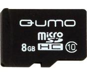 Карта памяти QUMO microSDHC (Class 10) 8GB