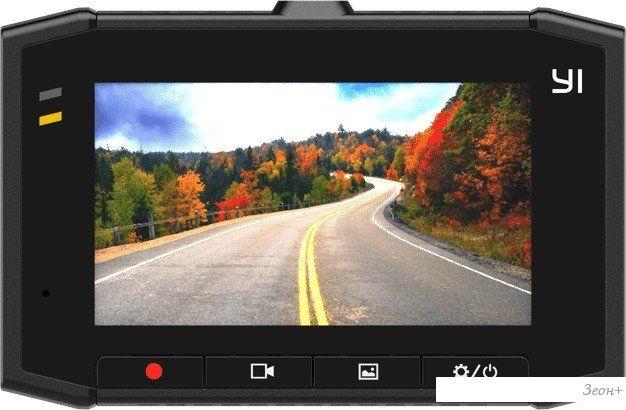 Автомобильный видеорегистратор YI Ultra Dash Camera (черный)