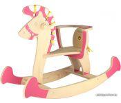 Качалка Woody Лошадка-качалка 3 (розовый)