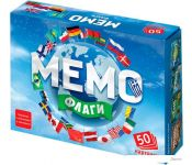 Настольная игра Бэмби Мемо - Флаги