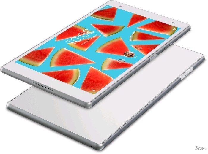 Планшет Lenovo Tab 4 8 Plus TB-8704X 16GB LTE (белый) ZA2F0118RU