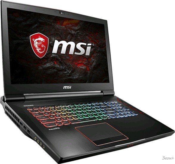 Ноутбук MSI GT73EVR 7RF-1014RU Titan Pro