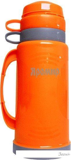 Термос Яромир ЯР-2020С 1л (оранжевый)