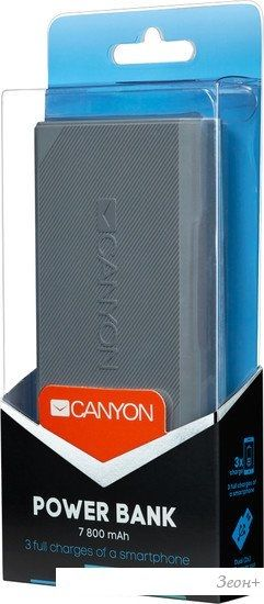 Портативное зарядное устройство Canyon CNE-CPBF78DG