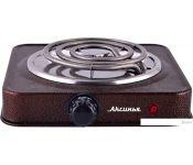 Настольная плита Аксинья КС-005 (коричневый)
