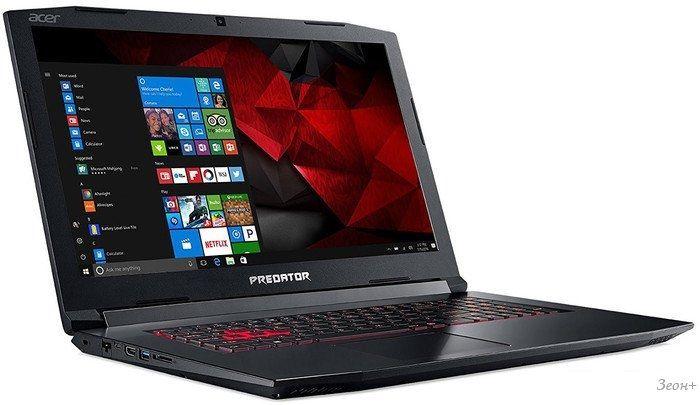 Ноутбук Acer Predator Helios 300 PH317-51-5569 NH.Q2MER.009