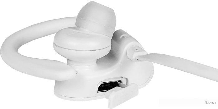 Наушники с микрофоном Oklick BT-S-120 (белый)