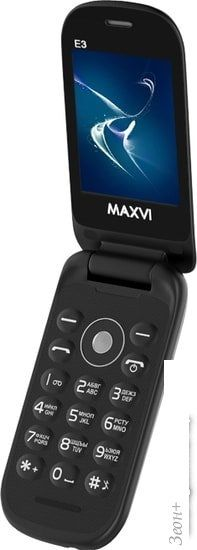 Мобильный телефон Maxvi E3 (черный)