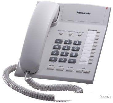 Проводной телефон Panasonic KX-TS2382RUW (белый)