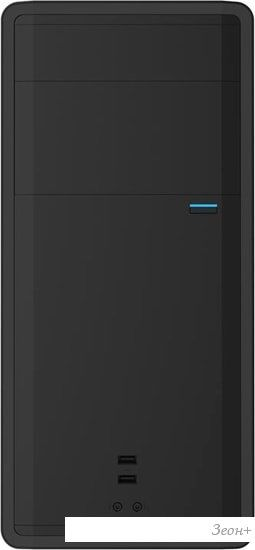 Корпус PowerCool S1009BK 450W