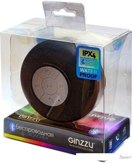 Беспроводная колонка Ginzzu GM-872B
