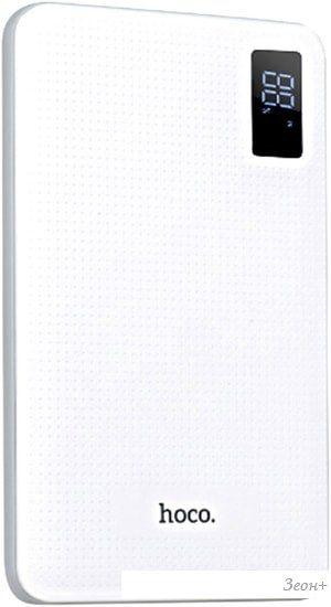 Портативное зарядное устройство Hoco B24 (белый)