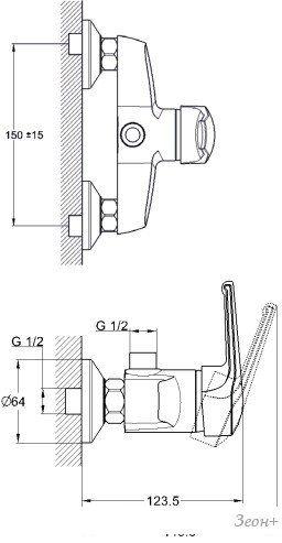 Смеситель Solone SIT5-A182