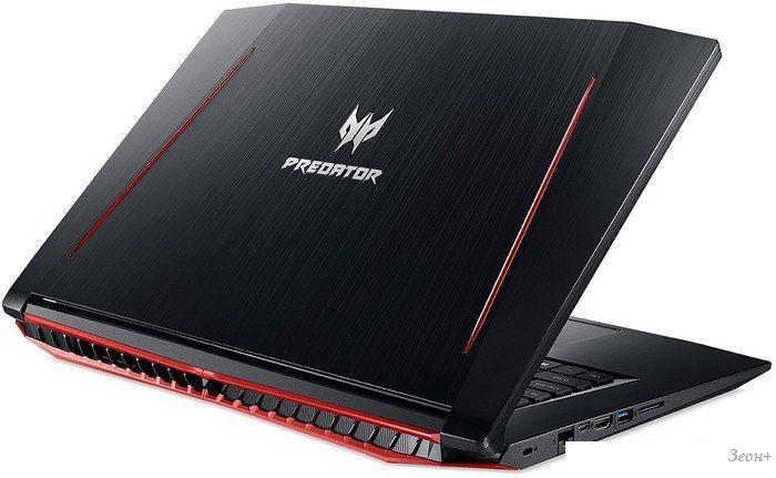 Ноутбук Acer Predator Helios 300 PH317-51-775P NH.Q29ER.006