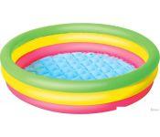 Надувной бассейн Bestway 51104 (102х25) без выбора цвета
