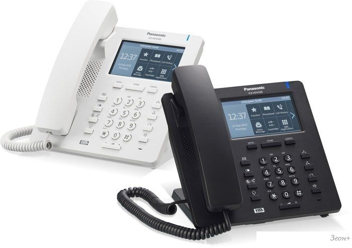 Проводной телефон Panasonic KX-HDV330RU (белый)