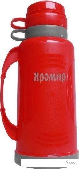 Термос Яромир ЯР-2021С (красный)