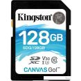 Карта памяти Kingston Canvas Go! SDG/128GB SDXC 128GB