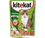 Корм для кошек Kitekat с кроликом в соусе 0.085 кг