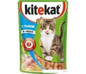 Корм для кошек Kitekat с рыбой в соусе 0.085 кг